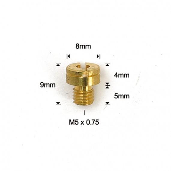Getto del massimo calibro 157,5 per carburatori Mikuni EBC