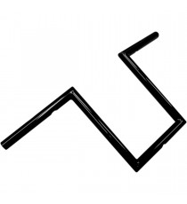 "Manubrio LA choppers narrow z nero lucido 25 cm (10"")"