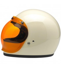 Visiera Bubble Biltwell anti-fog amber