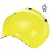 Visiera Bubble Biltwell anti-fog yellow