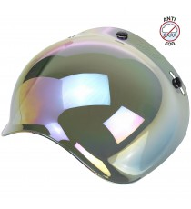 Visiera Bubble Biltwell anti-fog rainbow mirror