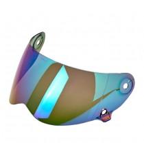 Visiera Biltwell Lane Splitter anti-fog rainbow mirror