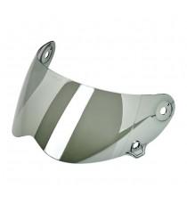 Visiera Biltwell Lane Splitter anti-fog chrome mirror