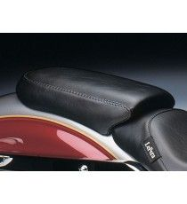 Pillion pad Le Pera singola seduta bare bones smooth black Dyna