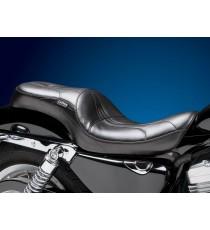 Sella Le Pera doppia seduta sorrento stitch black XL Sportster 2007 – 2009