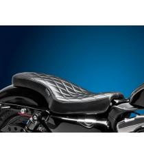 Sella Le Pera doppia seduta cobra diamantato black XL Sportster