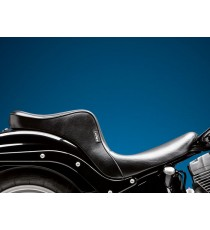 Sella Le Pera doppia seduta cherokee smooth black Softail