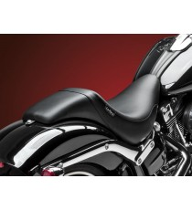 Sella Le Pera doppia seduta daytona sport smooth black Softail 2013 – 2018