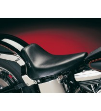 Sella Le Pera bare bones smooth biker gel black Softail 1984 – 1999