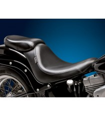 Pillion Pad Le Pera silhouette deluxe smooth black Softail 2006 – 2018