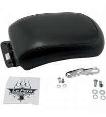 Pillion Pad Le Pera silhouette smooth biker gel black Softail 2000 – 2007