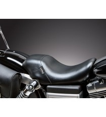 Sella Le Pera singola seduta bare bones up front smooth black Dyna