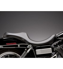 Sella Le Pera doppia seduta villain smooth black Dyna Glide