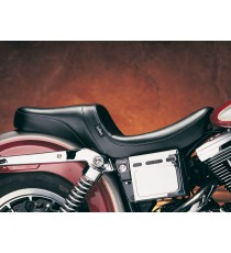 Sella Le Pera doppia seduta daytona two up smooth black Dyna Glide