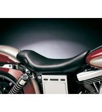 Sella Le Pera singola seduta bare bones biker gel smooth black Dyna Glide