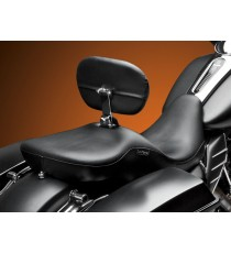 Sella Le Pera doppia seduta maverick con schienale smooth black Touring