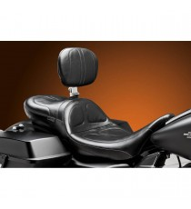 Sella Le Pera doppia seduta maverick daddy long con schienale stitch black Touring