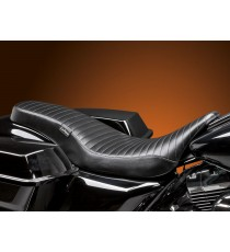 Sella Le Pera doppia seduta cobra full length pleated black Touring