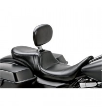 Sella Le Pera doppia seduta daytona two up con schienale smooth black Touring
