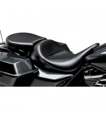 Pillion Pad Deluxe Le Pera aviator smooth black Touring