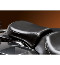 Pillion Pad Le Pera bare bones smooth black Touring