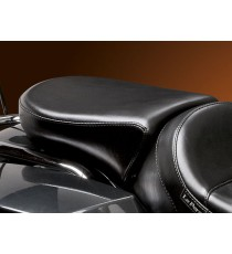 Pillion Pad Deluxe Le Pera bare bones smooth black Touring