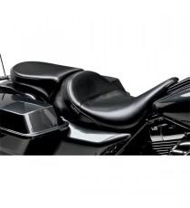 Pillion Pad Deluxe Le Pera bare bones smooth black Touring