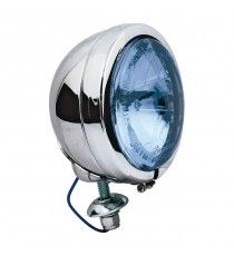 Faro supplementare FL Type 4 1/2 lente blu Cromato