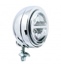 Faro supplementare Led Cromato 4 1/2