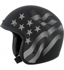 Casco Jet AFX Stealth Flag