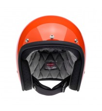 Casco Biltwell Jet Bonanza hazard orange