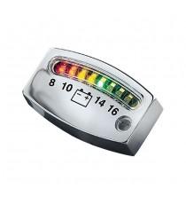 Kuryakyn battery gauge cromato