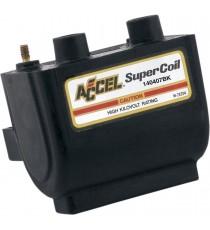 Bobina nera Accel Super Coil Dual Fire EFI 2,3 ohm