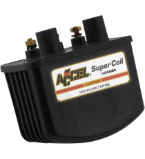 Bobina nera Accel Super Coil Single Fire EFI 3 ohm