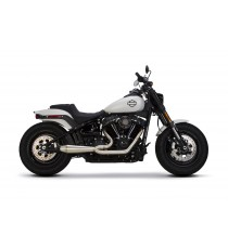 Sistema di Scarico Completo TBR Megaphone Gen-II 2-1 Softail 2018 - UP Racing