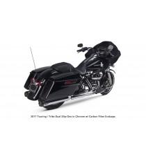 TBR Comp Dual Slip-Ons Touring Trike 2017 - UP Cromato Carbon Cap