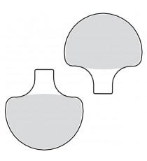 Pastiglie freno anteriori organiche Drag Specialties Dyna Wide Glide 1984 – 1999