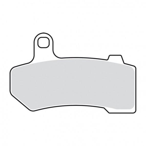Pastiglie freno posteriori organiche Drag Specialties Touring 2008 – 2016