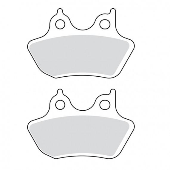 Pastiglie freno posteriori organiche Drag Specialties Big Twin 2000 – 2007