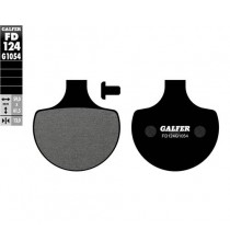 Pastiglie freno anteriori semi metal Galfer Performance Dyna 1984 – 1985