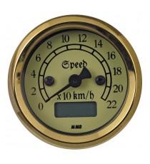 Contachilometri Elettronico MMB Ultra Mini Classic Ivory Nero