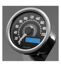 Contachilometri Elettronico Daytona Velona Speedo 60mm Led Bianco