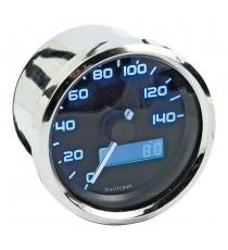 Contachilometri Elettronico Daytona Velona Speedo 60mm Lente Trasparente