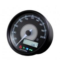Contachilometri Elettronico Daytona Velona Speedo 80mm