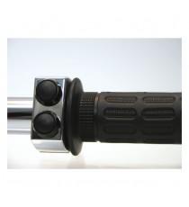 Motogadget M-Switch Alluminio Lucidato 2 Pulsanti Neri