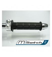 Motogadget M-Switch Alluminio Lucidato 2 Pulsanti Cromati
