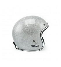 Casco Jet Roeg Disco Ball Silver