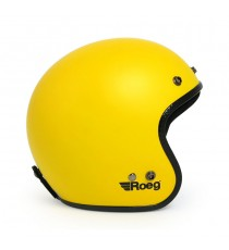 Casco Jett Roeg Matte Yellow