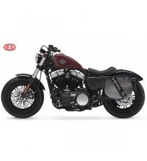 Borsa laterale Bando Harley Davidson Sportster in pelle