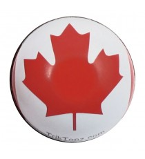 Coppia Tappi Valvola Canadian Flag
